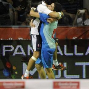 Sanyo Maxi celebran la victoria