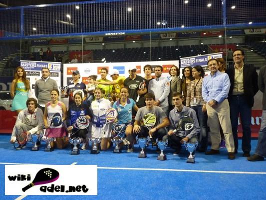 Foto familia WPT Masters Madrid