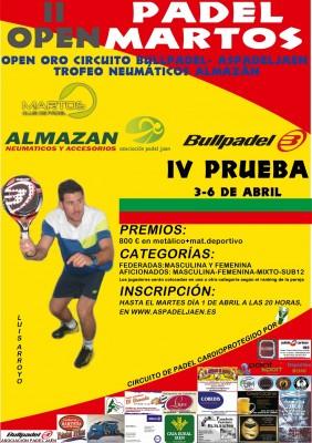 Torneo Open Oro Padel Martos vertical