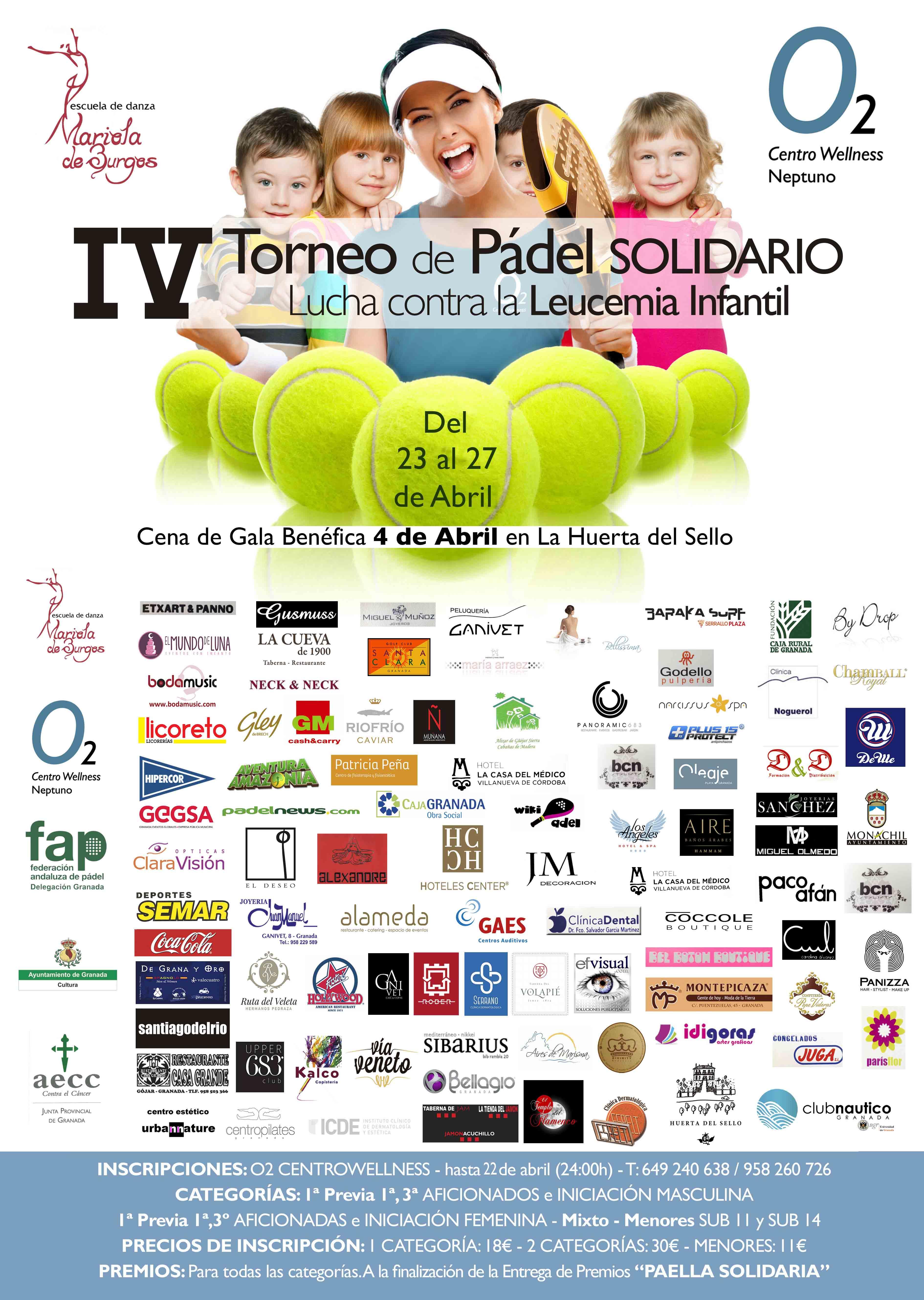 IV Torneo Pádel Solidario