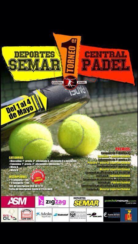 Torneo Central Pádel