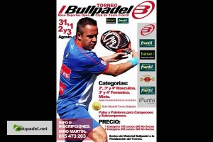 I TORNEO BULLPADEL-BASE DEPORTES OPEN.  CLUB TENIS FRONTIL : 31 JULIO- 3 AGOSTO