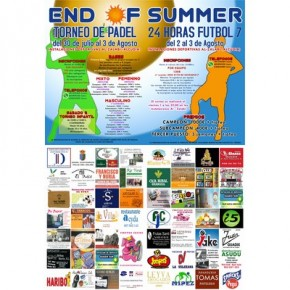 TORNEO END OF SUMMER, DEL 30 JULIO AL 3 AGOSTO, ALCUDIA DE GUADIX