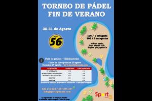 TORNEO PADEL FIN DEL VERANO, 30-31 AGOSTO EN PADEL 56