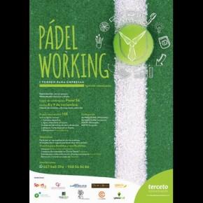 """I TORNEO DE PADEL PARA EMPRESAS """"PADELWORKING"""", 8 Y 9 NOVIEMBRE EN PADEL 56"""