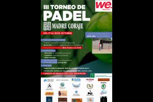 EN JUEGO: III TORNEO MADRE CORAJE WE FITNESS CLUB (17-19 OCT)