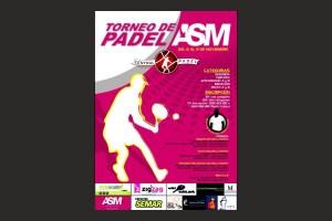 TORNEO ASM DEL 6 AL 9 NOVIEMBRE EN CENTRAL PADEL