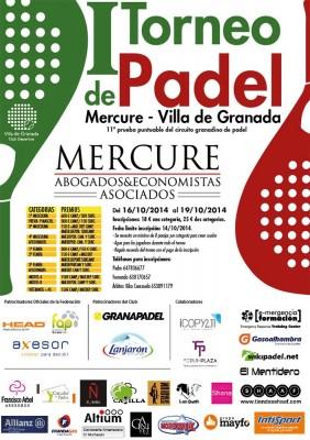Torneo de Pádel Mercure-Villa de Granada