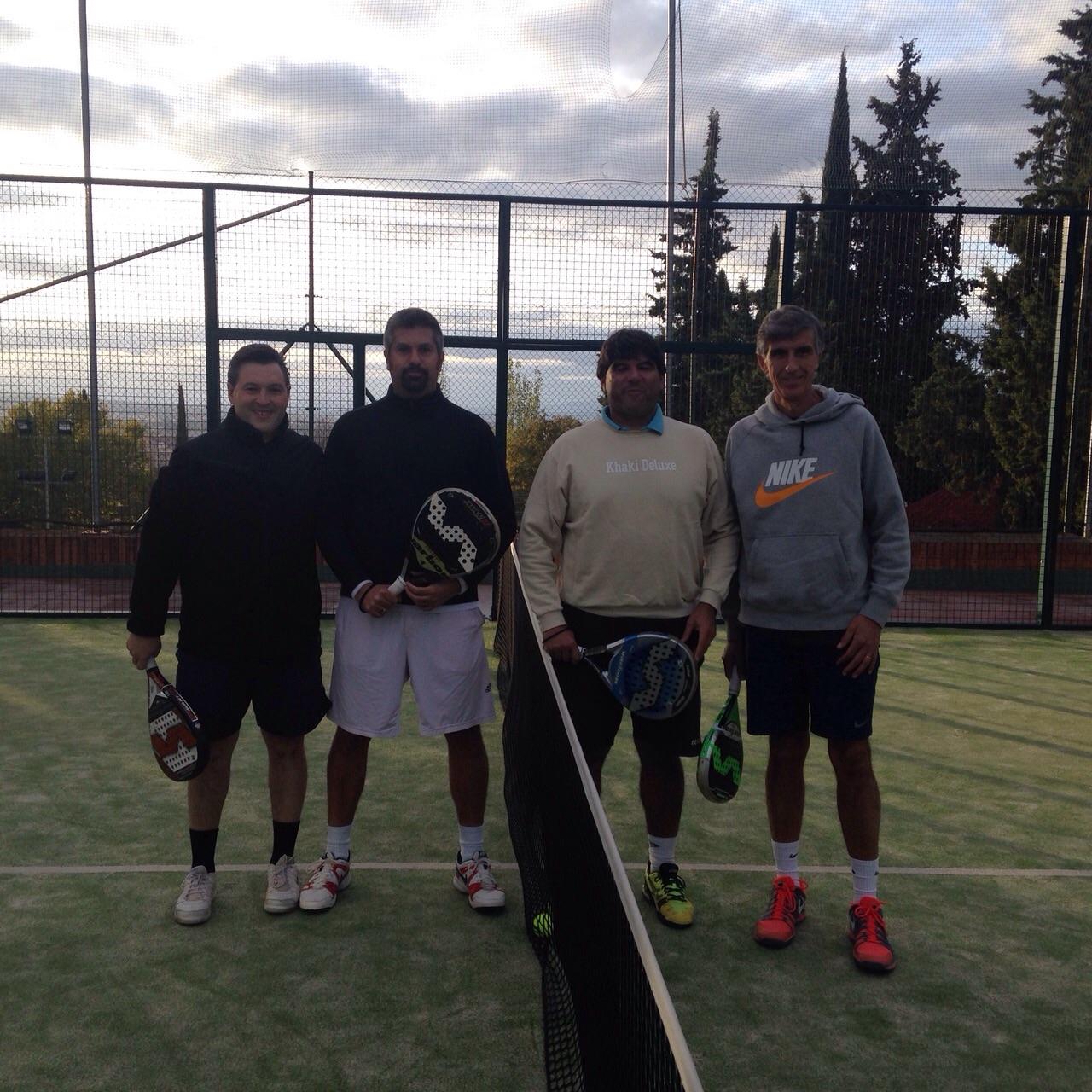 Campeonato de pádel Inter Colegios Profesionales
