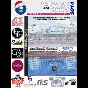 NAVIDAD OPEN DE PADEL. CAMPUS PADEL CLUB, 19-21 DICIEMBRE
