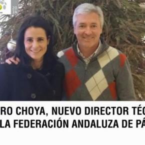 RAMIRO CHOYA, NUEVO DIRECTOR TÉCNICO DE LA FEDERACIÓN ANDALUZA DE PADEL.