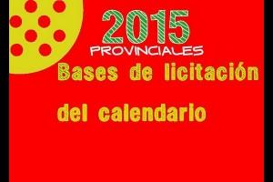 LA FAP PUBLICA LAS BASES DE LICITACIÓN DE PRUEBAS PARA EL CALENDARIO 2015