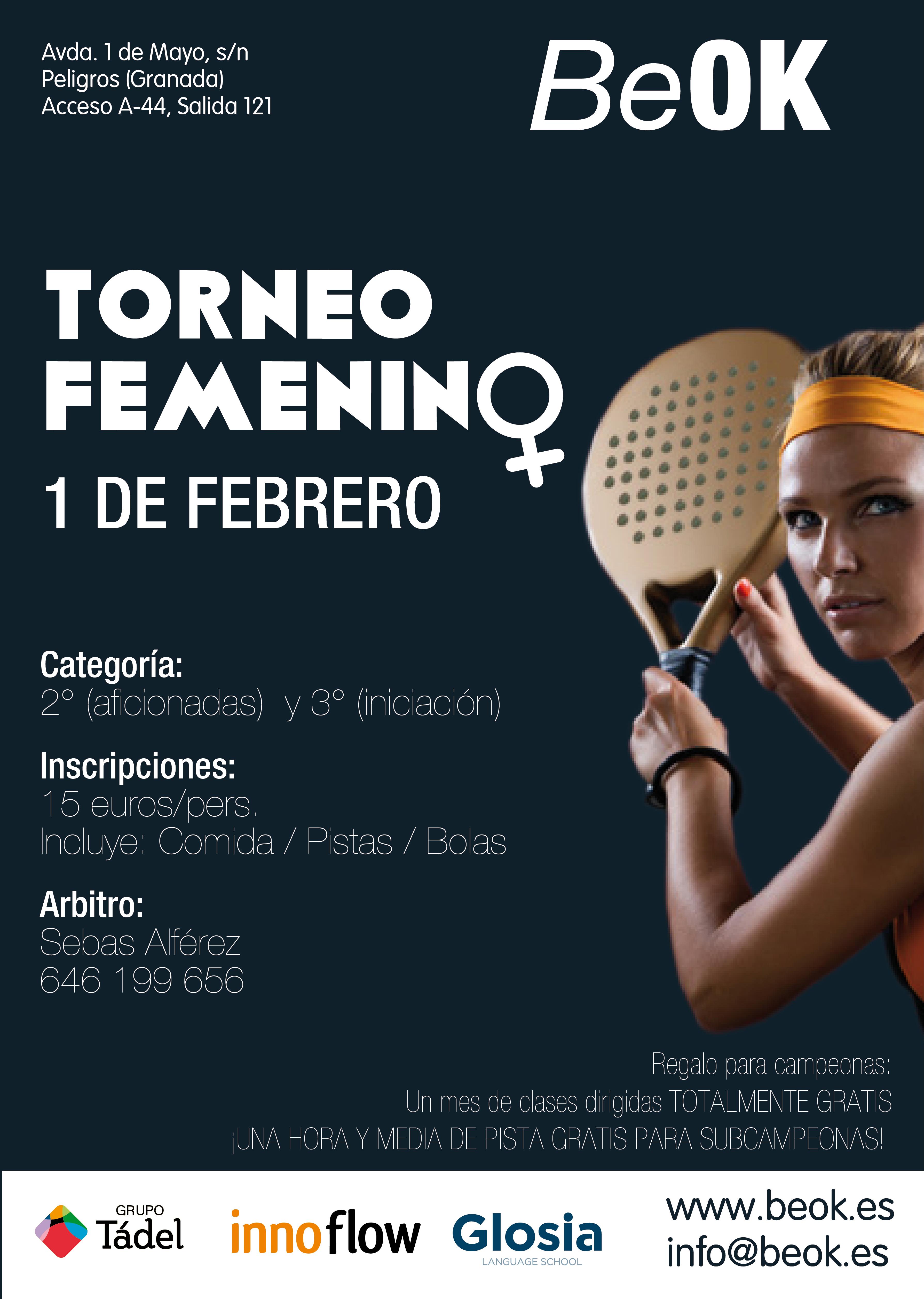 CARTEL FEMENINO BEOK
