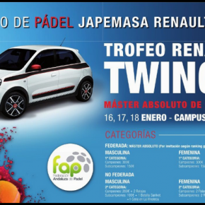 TORNEO DE PADEL JAPEMASA RENAULT- MASTER ABSOLUTO DE GRANADA