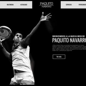 PAQUITO NAVARRO ESTRENA NUEVA WEB OFICIAL