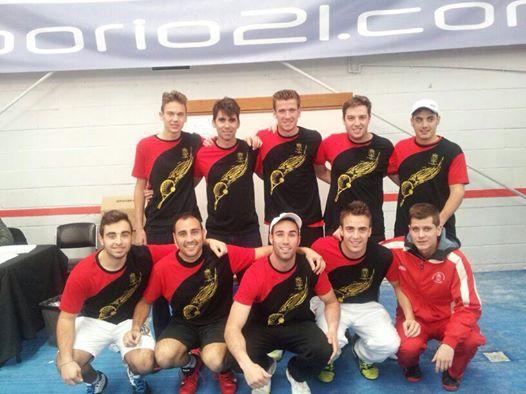 Real Sociedad de Tenis, equipo campeón 2014