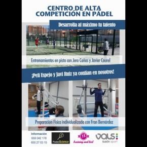 CENTRO DE ALTA COMPETICIÓN EN PÁDEL PADELSCIENCE-TRAINING TETS