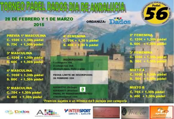 torneo día de Andalucía