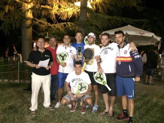 Campus Pádel, equipo campeón de 1ª Liga Provincial 2014
