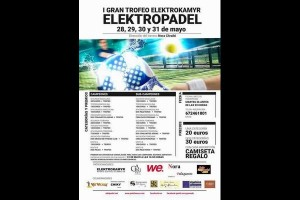 I TROFEO ELEKTROPADEL (WE FITNESS CLUB) 28-31 MAYO