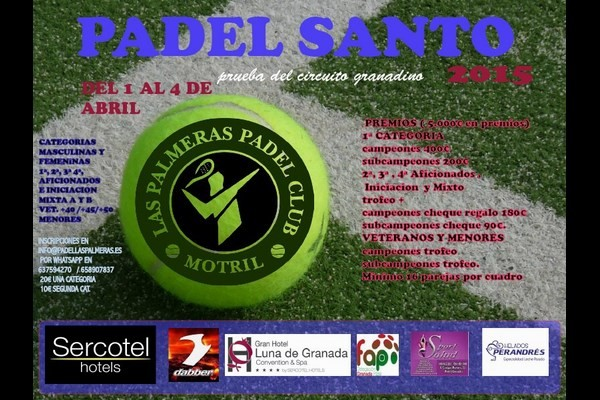 TORNEO PADEL SANTO