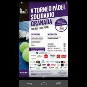 V TORNEO PADEL SOLIDARIO LA MAFIA . CAMPUS PADEL, 12-14 JUNIO