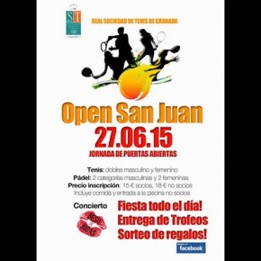 OPEN DE SAN JUAN (23-27 JUNIO, REAL SOCIEDAD TENIS-GRANADA)