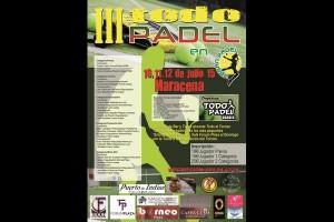 III TORNEO TODOPADEL. URBAN PADEL, 10-12 JULIO