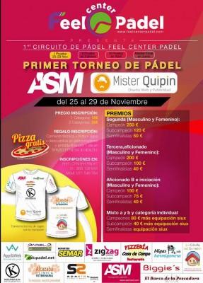 I TORNEO DE PADEL ASM-MISTER QUIPIN