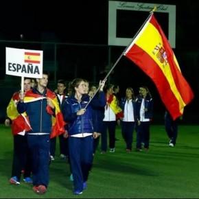 ESPAÑA IMPARABLE EN EL MUNDIAL DE PADEL MENORES MEXICO 2015. LOS GRANADINOS MIGUEL YANGUAS Y HELGA GARCIA EN SEMIFINALES OPEN PAREJAS.