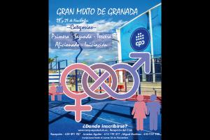 TORNEO GRAN MIXTO DE GRANADA. CAMPUS PADEL , 28-29 NOVIEMBRE