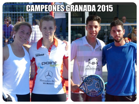 CAMPEONES ABSOLUTOS DE GRANADA 2015