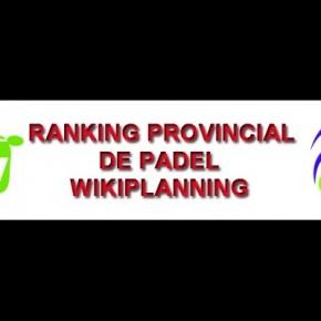 RANKING WIKIPLANNING ACTUALIZADO A 16 DE JUNIO