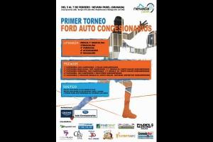 HORARIOS  I TORNEO FORD AUTO CONCESIONARIOS . NEVADA PÁDEL, 5-7 FEBRERO