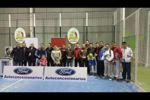 CUADRO DE HONOR Y GALERIA DE IMAGENES DEL I TORNEO FORD AUTO CONCESIONARIOS . NEVADA PÁDEL, 5-7 FEBRERO