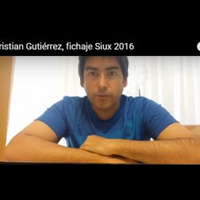 CRISTIAN GUTIERREZ  FICHAJE ESTRELLA DE SIUX