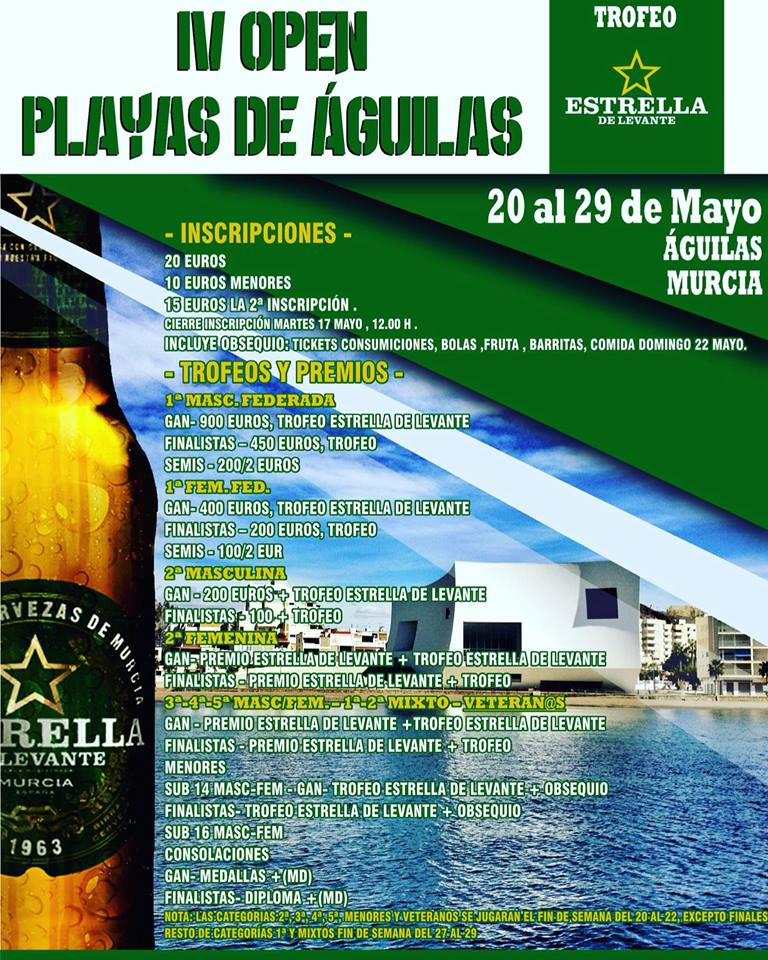IV OPEN PLAYAS DE ÁGUILAS