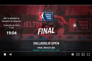 WPT EN DIRECTO: FINAL MASCULINA ESTRELLA DAMM VALLADOLID OPEN