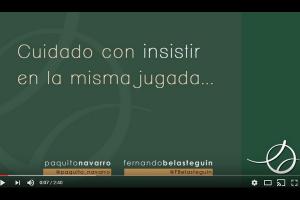 VÍDEO ANÁLISIS PÁDEL: CUIDADO CON INSISTIR EN LA MISMA JUGADA