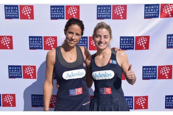 MONTECARLO INTERNATIONAL SPORTS FICHA A  MARTA MARRERO Y ALEJANDRA SALAZAR.