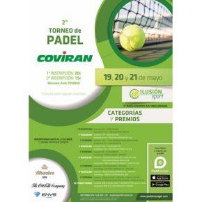 II TORNEO DE PADEL COVIRAN. ILUSION SPORT, 19-21 MAYO.