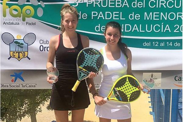 Cristina Torrecillas y Helga García