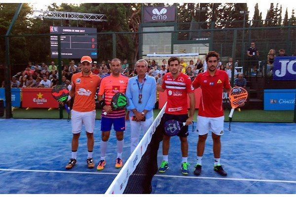 Pablo Lijó y Willy Lahoz campeones del Joma Cabrera de Mar Challenger