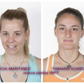 Lucía Martínez y Tamara Icardo nueva pareja World Pádel Tour.