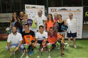 Lucía Martínez-Tamara Icardo y JC Gaspar-Pabblo Herrera, campeones de los Internacionales de Andalucía
