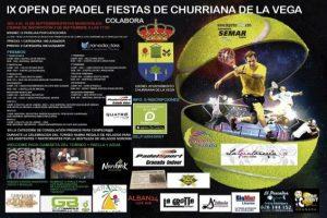 IX Open de pádel fiestas de Churriana de la Vega