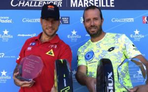 Nacho Gadea y German Tamame campeones del Marsella Challenger
