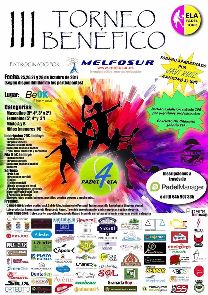 III Torneo Benéfico ELA-Melfosur