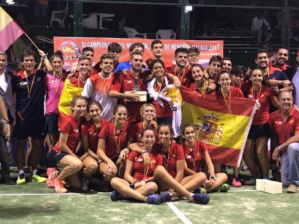 España doble campeona del Mundial de Pádel de Menores 2017