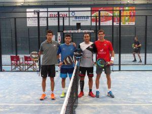 4 parejas en busca de una plaza en cuadro final del Granada Open 2017